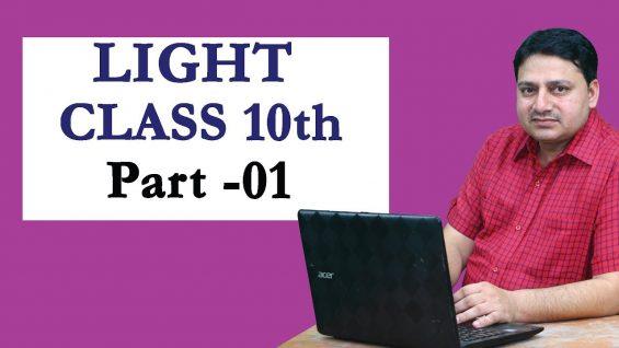 Light Reflection & Refraction – Physics Class 10th NTSE/CBSE/HBSE Part-01