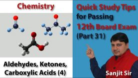 Quick Tips Class 12th Chemistry Exam/Tips/Notes (Part 31) Aldehydes, Ketones, Carboxylic Acids (4)