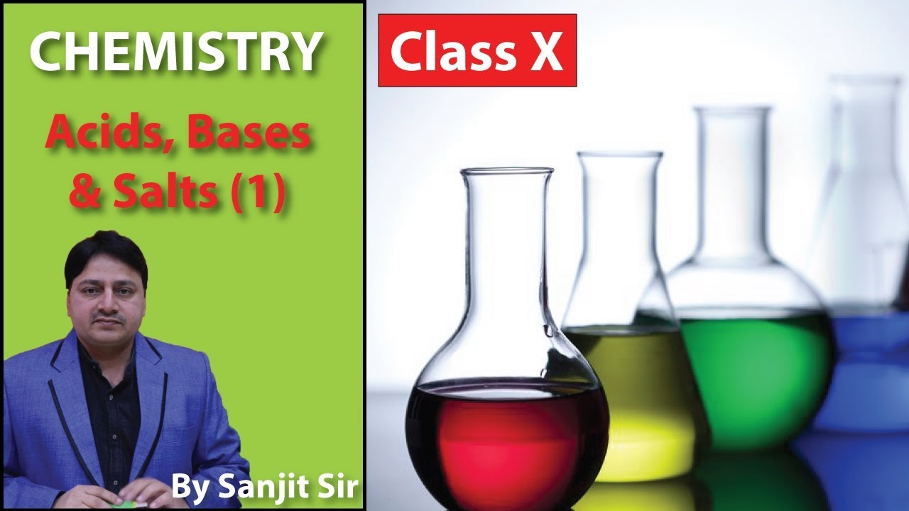 Class10: Chemistry Important Questions/Notes/Tips | Topics: Acids, Bases and Salts (1)