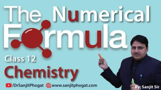 Class 12th Chemistry Exam/Tips/Notes: Numerical Formulas