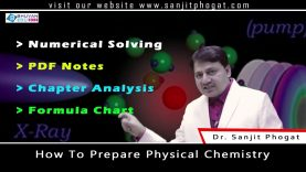 "Class 12th Chemistry Important Tips & Trick on ""How to Prepare Physical Chemistry"""
